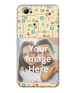 lowest price 0ae60 4d66d Buy Customized Micromax Bolt Q338 Back Covers Online | yourPrint