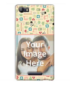 super popular 770b8 e9de0 Buy Customized Micromax Canvas 5 E481 Back Covers Online | yourPrint