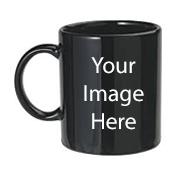 Customized Black Mugs