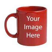 Customized Red Mugs