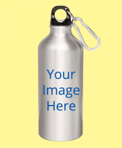 Customized Silver Sipper Bottles