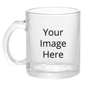 Customized Transparent Clear Mugs