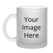 Customized Transparent Frosted Mugs