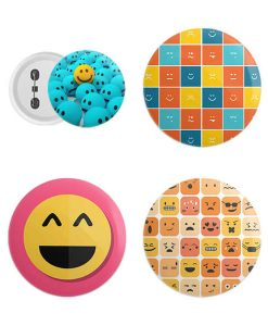 Buy Customized Photo Printed Button Badges Online in India