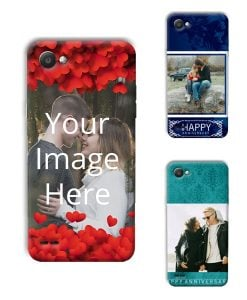 meet 9824e a5ebe Buy Customized LG Q6 Back Covers Online in India | yourPrint