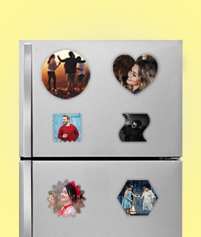 Customized Fridge Photo Magnets