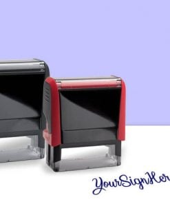 Customized Self Inking Signature Stamps