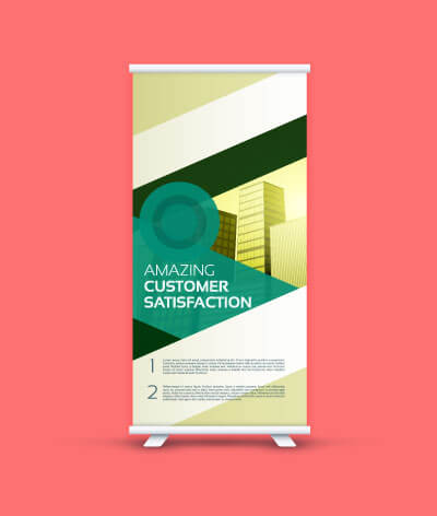 Customized Banner Standees