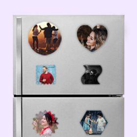 Customized Fridge Photo Magnets