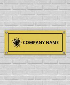 Customized Name Plates