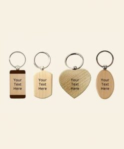 Customized Wooden Keychains