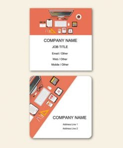 Square Visiting Cards